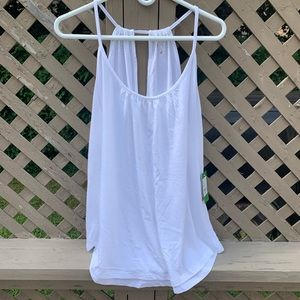 NWT Lilly Pulitzer white flowy tank top